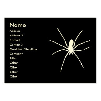 White Spider Large Business Card