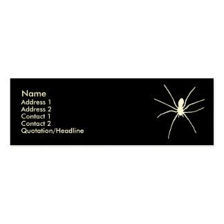 White Spider Mini Business Card