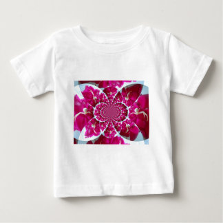 White Spider on a Beautiful Red Rose Baby T-Shirt