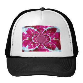 White Spider on a Beautiful Red Rose Hat Template