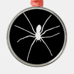 White Spider Ornaments