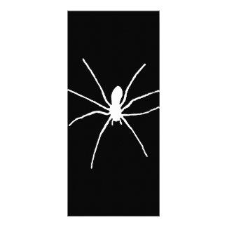 White Spider Rack Card