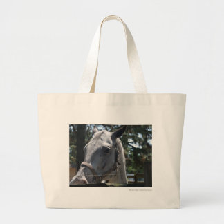 white spotted horse canvas bags