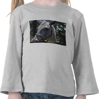 white spotted horse tees