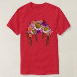 White Spring Daisies by Delynn Addams T-Shirt