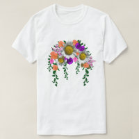 White Spring Daisy by Delynn Addams T-Shirt