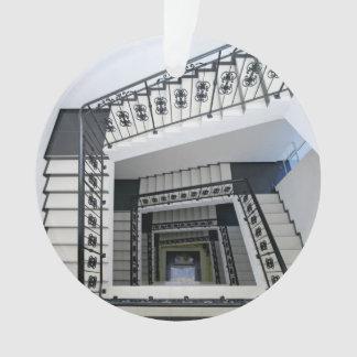 White Square Staircase