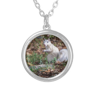 White Squirrel of Brevard Personalized Necklace