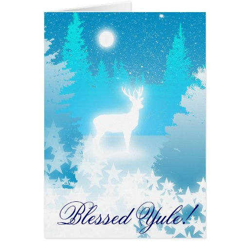White Stag Card