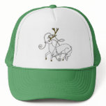White Stag hat
