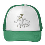 White Stag hat