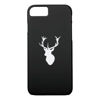 White Stag Head iPhone 7 Case