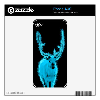 White stag iPhone 4/4s skin (phone case) Decal For The iPhone 4S