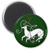 White Stag magnet