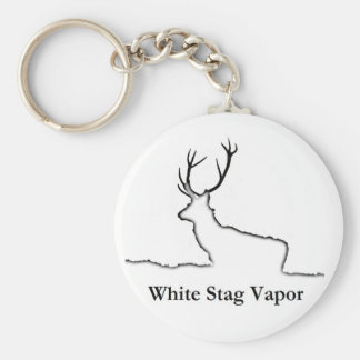 White Stag Vapor Products Keychain