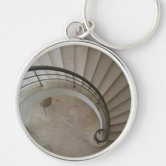 White Stairs Keychain