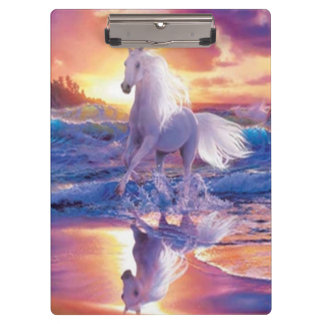 White Stallion Clipboard