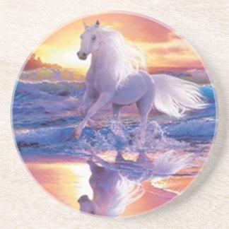 White Stallion Coaster