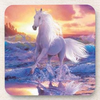 White Stallion Coasters