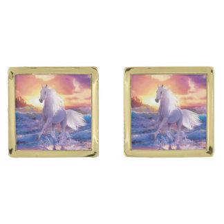 White Stallion Cufflinks