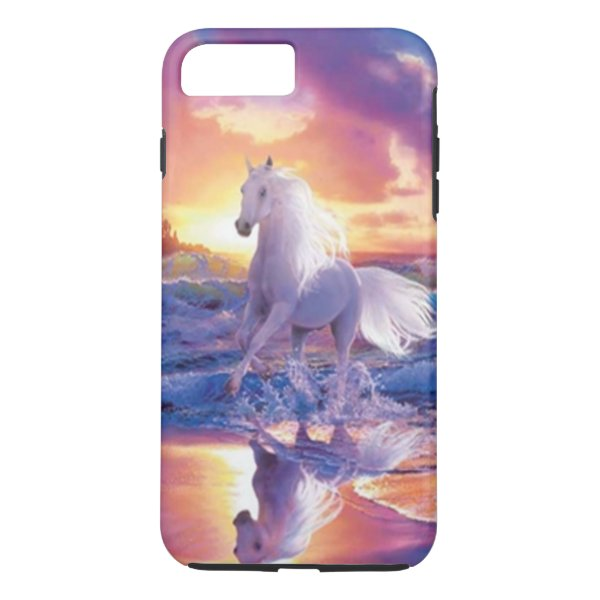 White Stallion iPhone 7 Case