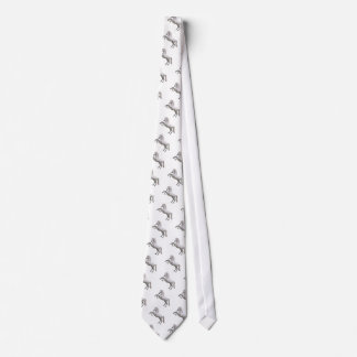 White Stallion Neck Tie