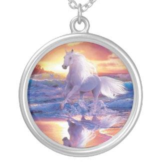 White Stallion Necklace