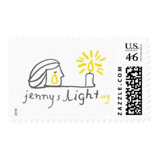 White Stamp