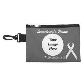White Standard Ribbon Accessory Bags