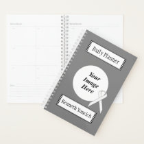 White Standard Ribbon by Kenneth Yoncich Planner