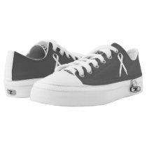 White Standard Ribbon Low-Top Sneakers