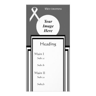 White Standard Ribbon Template