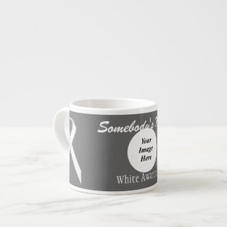 White Standard Ribbon Template by Kenneth Yoncich Espresso Cup