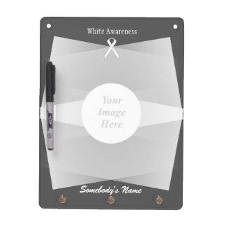White Standard Ribbon Template Dry Erase Board