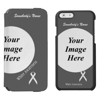 White Standard Ribbon Template Incipio Watson™ iPhone 6 Wallet Case