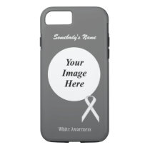 White Standard Ribbon Tmpl by Kenneth Yoncich iPhone 8/7 Case