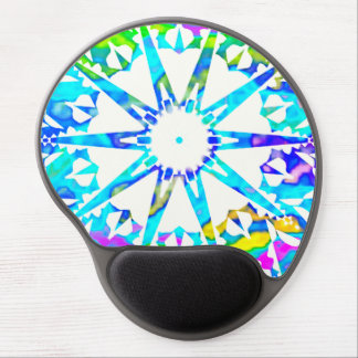 White Star♥ Gel Mouse Pad