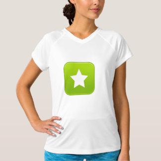 White Star Icon Womens Active Tee