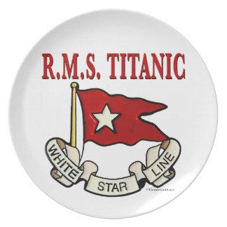 White Star Line Dinner Plate