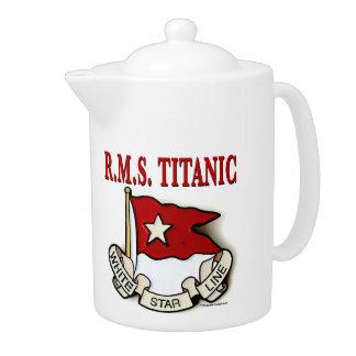 White Star Line: Kitchen: Teapots & Pitchers
