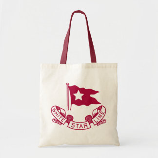 White Star Line logo Budget Tote Bag
