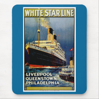 White Star Line Mouse Pad