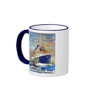 White Star Line Ringer Mug