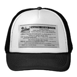 White Star Line Summer Schedule Tashmoo Park Trucker Hat