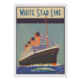 White Star Line (Titanic) Posters