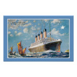 White Star Line's Olympic Print
