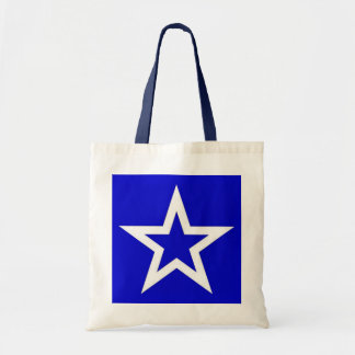 White Star on Blue - Bag/Tote