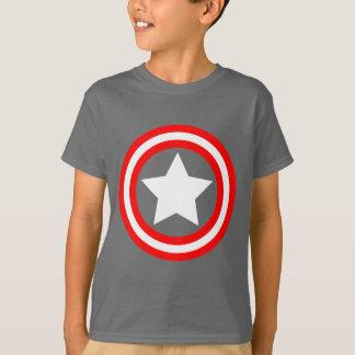 White Star With Circles Art T-Shirt