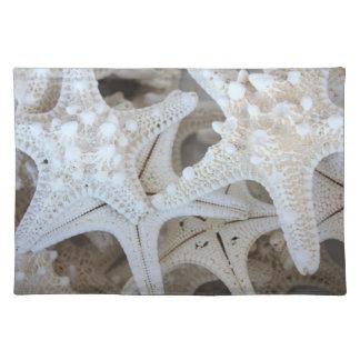White Starfish Placemats