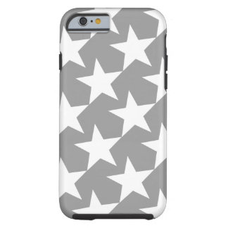 WHITE STARS (GEOMETRIC PATTERN) iPhone 6 Case